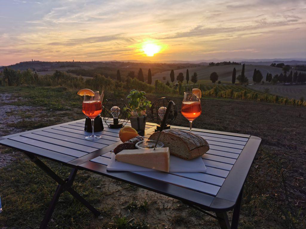 Camping Italien/ Toskana - Campingplatz